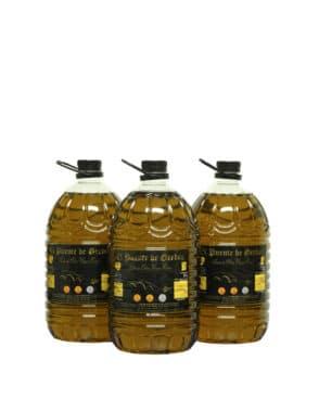 Aceite De Oliva Virgen Extra En Botella 5 Litros (Caja 3 Uds)