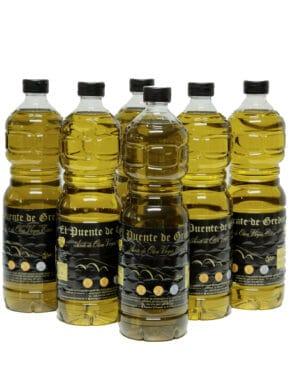 Aceite De Oliva Virgen Extra En Botella 1 Litro (Caja 15 Uds)